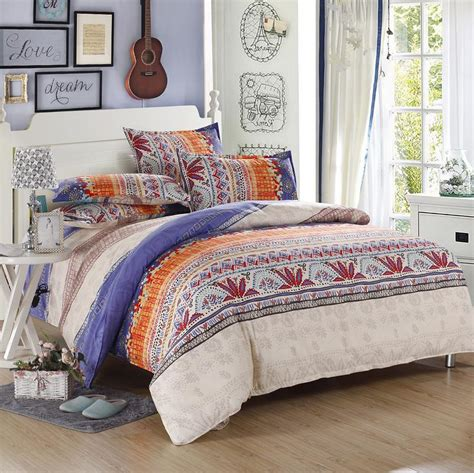 bohemian chic bedding new bohemian boho style king queen full size bedding set