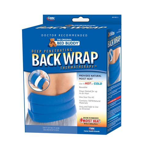carex bed buddy carex bed buddy moist heat back wrap hot packs and wraps