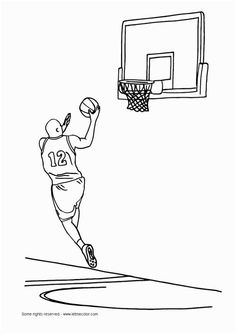coloring pages with basketball basketball coloring pages scrapbooking prints