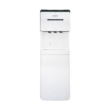 Dispenser Atas Bawah jual denpoo ddk 11055 standing dispenser galon atas putih harga kualitas terjamin