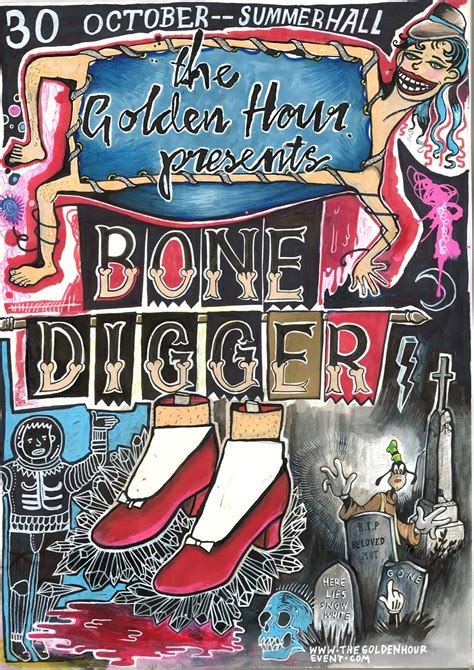 Bone Digger the golden hour bone digger