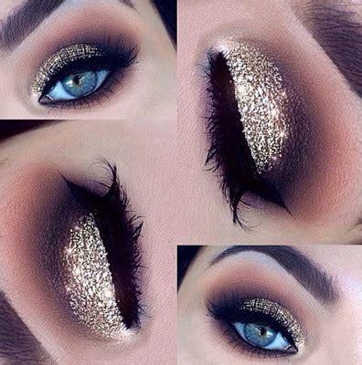 brillantina para ojos maquillaje con glitter para el d 237 a maquillaje de ojos con glitter de forma f 225 cil imagenes