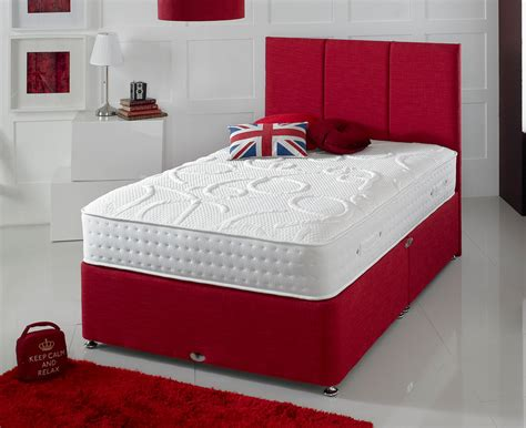 shire beds shire beds eco chion 6ft superking divan bed