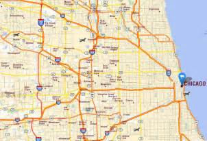 Chicago Illinois Us Map map of chicago related keywords amp suggestions map of