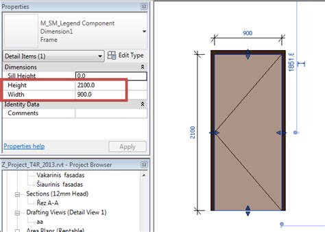 Door Sizes Faq How To Adjust Dimensions In Revit To Each Door