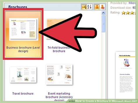 how do you make a calendar in word how to create a brochure in microsoft word 2007 with sles
