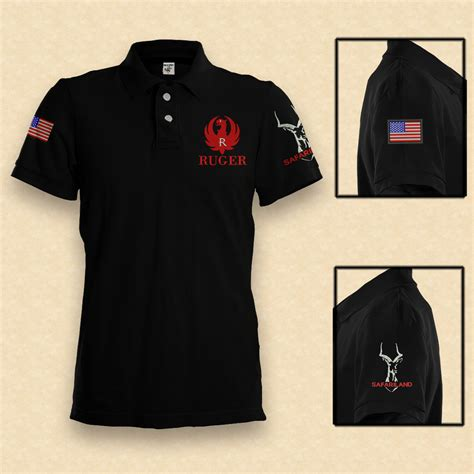Motorrad Polo Germany by Sportsch 252 Tzen Polo Shirt Ruger Germany Usa S 3xl Pistole
