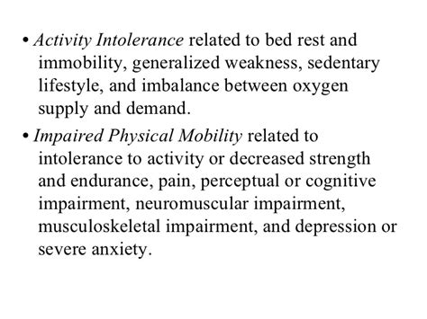 Impaired Bed Mobility by Mobility