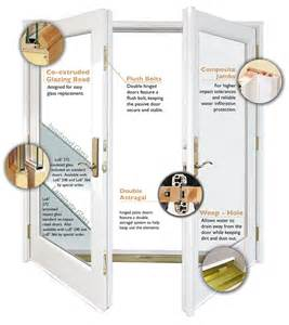 Patio Door Seal French Doors And Patio Doors Exovations