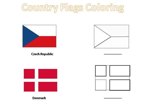 Contoh Lmaran Kerja Pke Olop by Country Flags To Color Host Your Own Mini Olympic