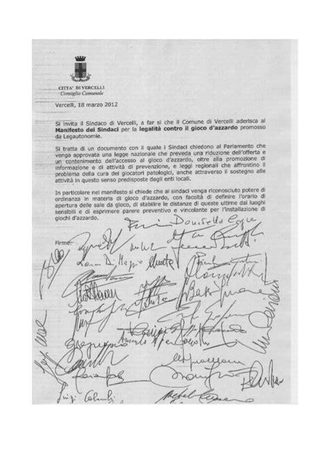 lettere invito lettera invito al sindaco