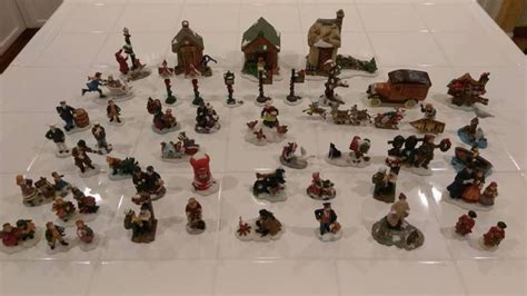 miniature christmas figurines shop collectibles online daily