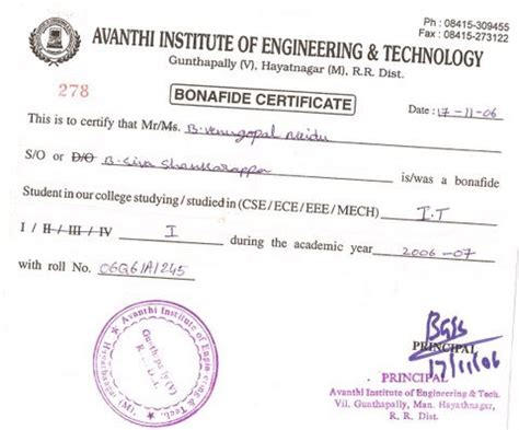 application letter for bonafide certificate from college application letter for bonafide certificate from school