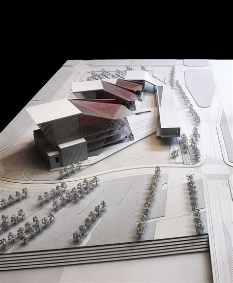 design competition models sejong art center entry by h architecture haeahn