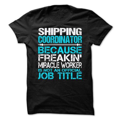Shipping Coordinator by Shipping Coordinator