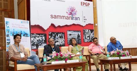 Iim Bangalore One Year Mba by Iim B Epgp S Sammantran Shines Spotlight On Untapped