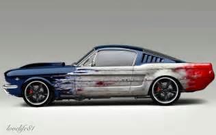 Black 64 Mustang Blue Fastback Foose Wheels By Lovelife81 On Deviantart