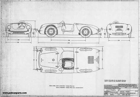 Small Home Blueprints Pelican Parts Original German 550 Blueprint