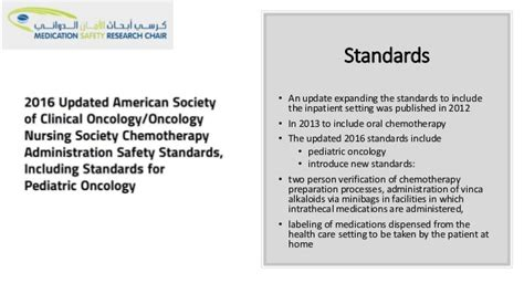 nccn chemotherapy order templates medication saftey oncology setting