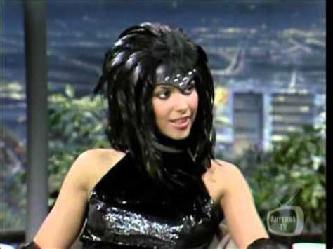 Vanity 6 Make Up Vanity Denise Matthews On Carson Tonight Show May30 1985
