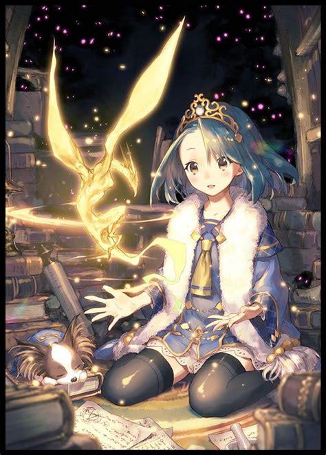 ghim tren anime girls  nature