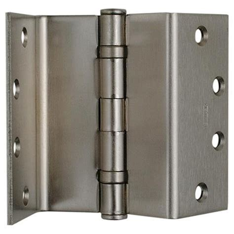 swing clear door hinge stanley f248 4 quot swing clear hinge 055152 satin brass