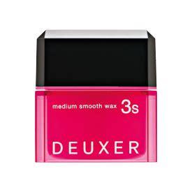 No3 Deuxer Medium Soft Wax 3 80g deuxer no3 ナンバースリー number three