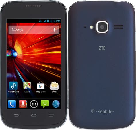 zte concord ii phone  android smart phone metropcs gsm