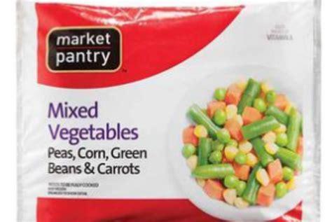 Market Pantry Recall by Recall Alert Frozen Vegetables Williamson Source