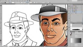 coloring in illustrator drawing and coloring tutorial for adobe illustrator