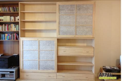 japanese bookshelves bookcase with japanese doors japanischwohnen arpel