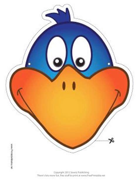 printable bird mask pin by patricia acevedo on teatro mascaras 2 pinterest