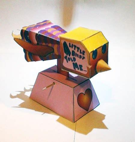 Moving Papercraft - birdie paper paperkraft net free papercraft