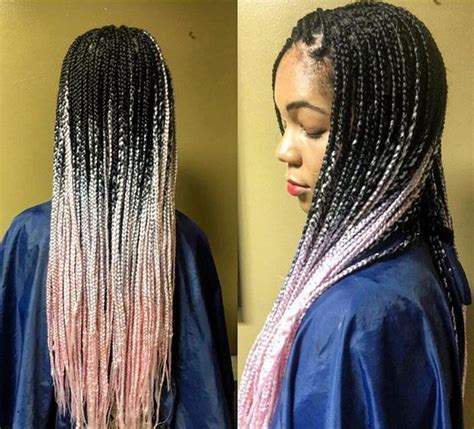 ombre individual braids 35 individual braids and crochet individual braids styles