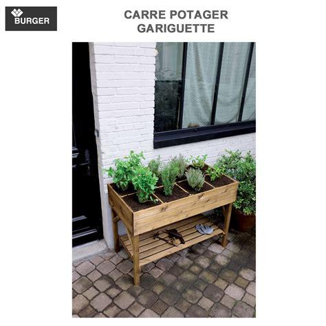 Carre Potager Sur Pieds 3783 by Carr 233 Potager Sur Pied Bois Gariguette Burger Jardipolys