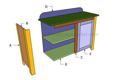 home bar plans howtospecialist how to build step by