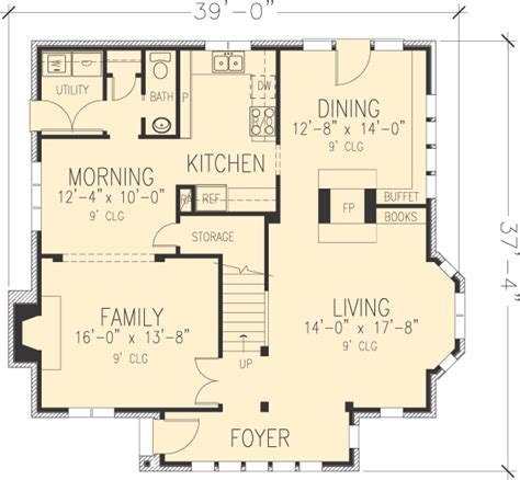 tudor house floor plans house plan 90348 at familyhomeplans
