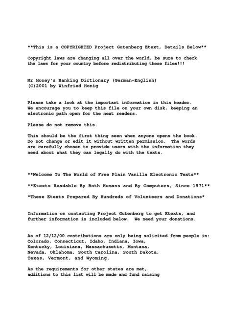 Beschwerdebrief Computer Banking Dictionary