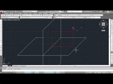 tutorial de autocad 2013 tutorial dibujo tecnico parte 2 encontrar punto en el