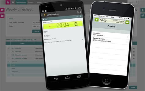 android tracking time tracking for iphone and android smartphones