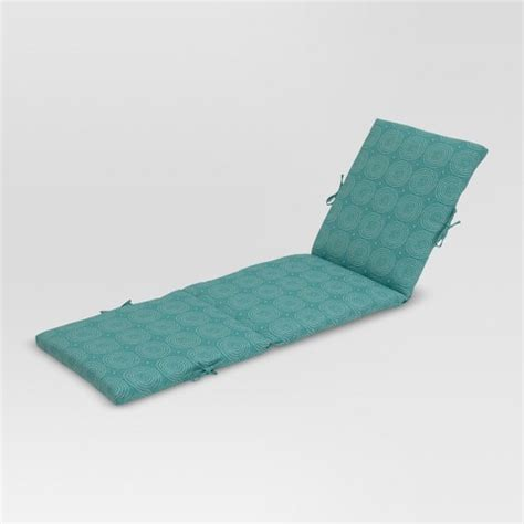 Target Outdoor Chaise Cushions threshold outdoor chaise lounge cushion target