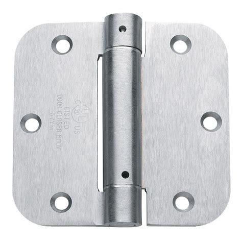 Door Controls by Global Door Controls 3 5 In X 3 5 In Brushed Chrome