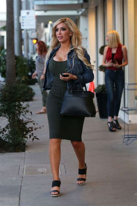 Farah Dress 02 farrah abraham in tight dress out in beverly