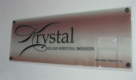 krystal glass white boards magnetic glass whiteboard
