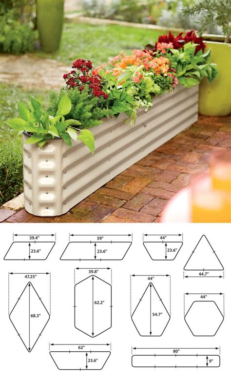 Narrow Trough Planter by 25 Best Ideas About Galvanized Trough On