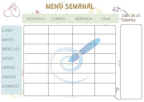 agenda fitness descargar gratis c 243 mo elaborar un men 250 equilibrado y saludable con naradiet