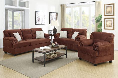 Chocolate Color Sofa by 3 Pcs Sofa Set F7915 Color Chocolate Furniture Mattress