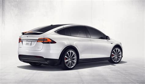 Tesla Fully Electric Tesla Model X Fully Electric Suv Revealed 0 60mph In 3 2