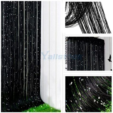 string curtains for windows string curtain with bead sequin spangle fringe door window