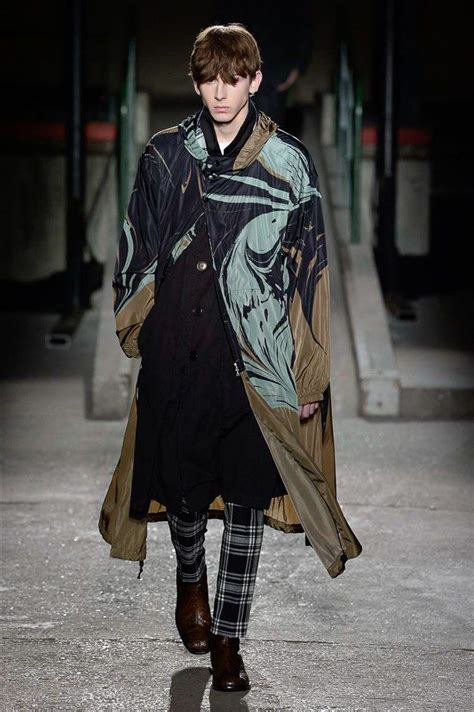 dries noten fall 2018 menswear fashion show fall winter fashion fashion mens fashion